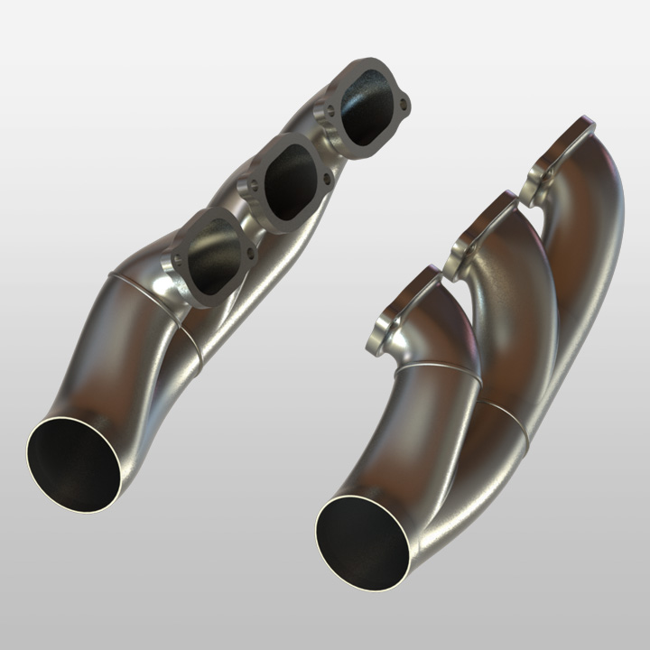 Additive Manufacturing Racing Exhaust
